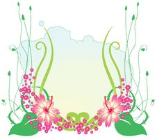 Free Funky Flowers Stock Photography - 9509232