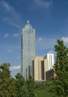 Free Midtown Atlanta Royalty Free Stock Photo - 9509515