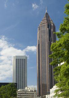 Free Midtown Atlanta Royalty Free Stock Photography - 9509517