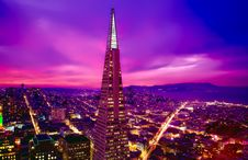 Free Transamerica Pyramid Stock Images - 95031254