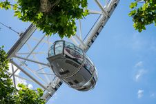 Free London Eye Gondola Stock Images - 95031944