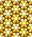 Free Seamless Honeycomb Pattern Royalty Free Stock Image - 9513746