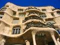 Free Casa Mila Royalty Free Stock Image - 9514916