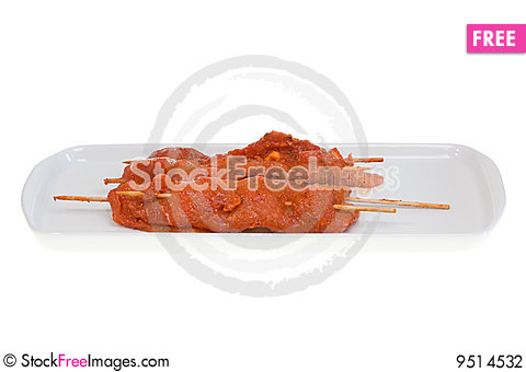 Free Uncooked Barbecue. Stock Photography - 9514532