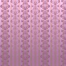Free Wallpaper Pattern. Vector Royalty Free Stock Photography - 9510167