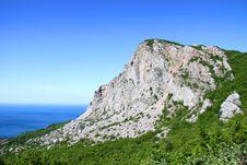 Sea And Mountain Royalty Free Stock Photo
