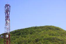 Free Telecommunication Tower Royalty Free Stock Image - 9510436