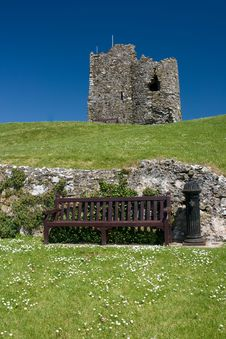 Free Tenby Castle Stock Image - 9510441