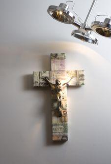 Free Cross I Royalty Free Stock Photography - 9510927