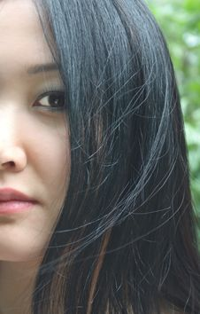 Free Asian Beauty Stock Image - 9511241
