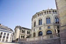 Free The Norwegian Parliament Stock Photos - 9511533