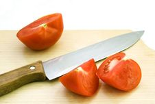 Free Chopped Tomato 1 Royalty Free Stock Photo - 9511555
