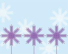 Free Snowflakes Royalty Free Stock Image - 9512186