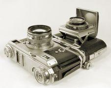 Free Cameras. Royalty Free Stock Photo - 9512445