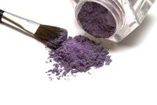 Free Violet Make-up Eyeshadows Stock Image - 9512771