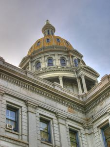 Free Denver Capitol Building Royalty Free Stock Photography - 9513047