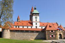 Free Stronghold Bouzov, Czech Royalty Free Stock Photography - 9513537