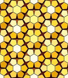 Free Seamless Honeycomb Pattern Royalty Free Stock Image - 9513746