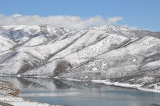Spring Lake Royalty Free Stock Photos