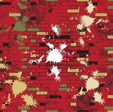Abstract Grunge Mosaic Tiles Raster Stock Photos