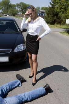 Free The Road Incident Stock Photo - 9514560