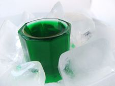 Free Fresh Mint  Drink On Ice Stock Photo - 9514810