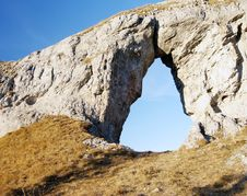 Free Rock Window Stock Image - 9514891