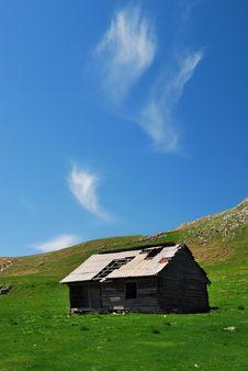 Bucegi Mountains Shelter Romania Royalty Free Stock Images