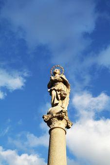 Statue Of Madonna Stock Photo