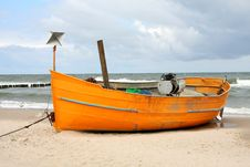 Free Fisherman S Boat Royalty Free Stock Photography - 9516057