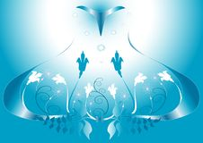 Free Abstract Blue Background. Stock Photography - 9516062