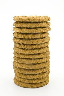 Free Tower Of Cookies Royalty Free Stock Images - 9516339