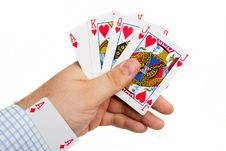 Free Playing Cards Stock Photos - 9516373