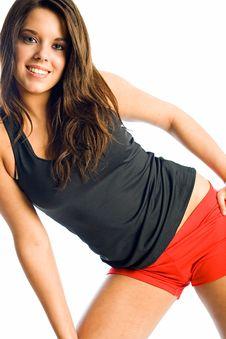 Teen Fitness Stock Photography