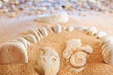 Free Sand And Pebbles Stock Photo - 9517330
