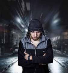 Free Portrait Of A Man On The Street  Stock Photo - 95108960