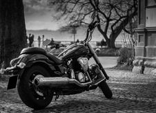 Free Motorcycle On Street Royalty Free Stock Photography - 95164967