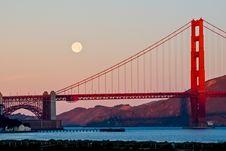 Free Golden Gate Bridge Stock Photography - 95164992