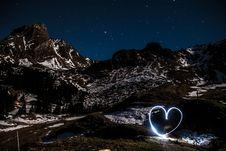 Free Mountain Love Stock Photo - 95165090