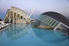 Free City Of Art And Science In Valencia Stock Image - 95165371