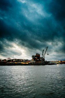 Free Utrecht Harbour Stock Images - 95166394