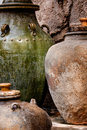Free Pottery Jars Stock Photography - 9522282