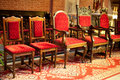 Free Old Chairs In Church Royalty Free Stock Images - 9526159