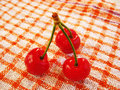 Free Three Cherries Stock Photo - 9529750