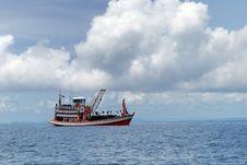 Ship Sailing Royalty Free Stock Photography