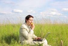 Free Businessman Relax Stock Photos - 9520253