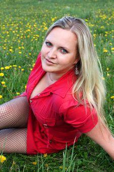 Free Woman Portrait Stock Image - 9520551