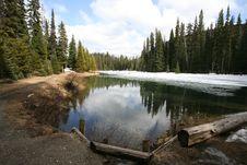 Free Mountain Lake Stock Photo - 9520600