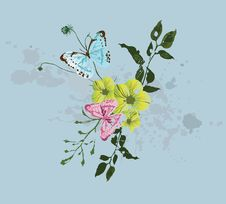 Free Spring Background Royalty Free Stock Photography - 9520607