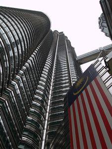 Free Petronas Twin Towers, Kuala Lumpur Royalty Free Stock Photos - 9521058
